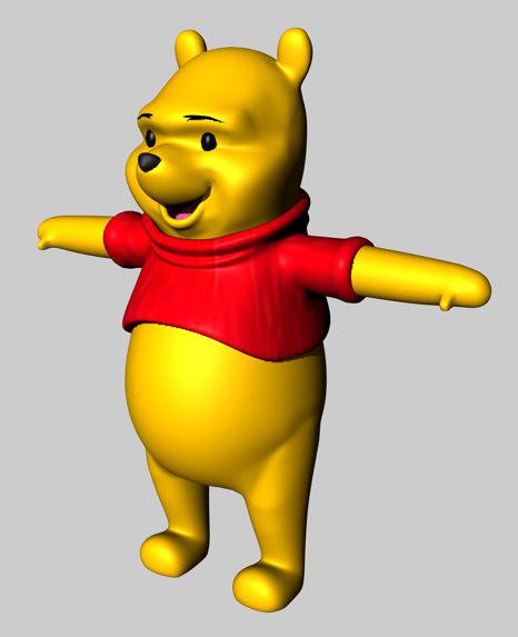 free c4d mode winnie pooh