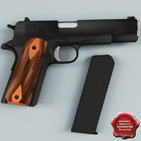 remington 1911 3d 3ds