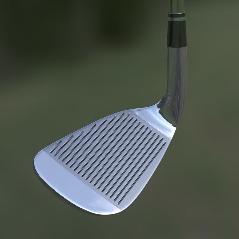 3d golf club sand wedge