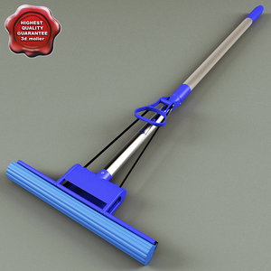 3dsmax sponge mop