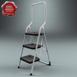 3ds max step ladder v2