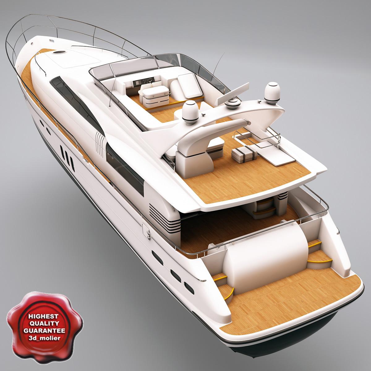 yacht princess 23m max