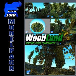 max woodland pack tree plants