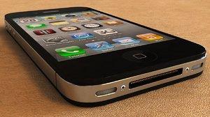 3d iphone 4 phone