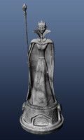 maya gargoyle chess queen