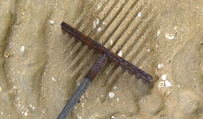 3dm rusted rake