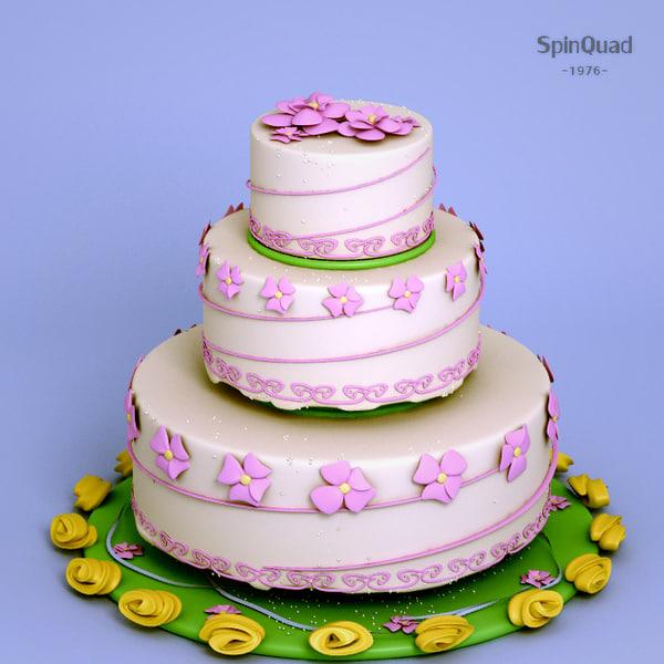 cake - obj