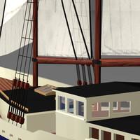 Boat Schooner max