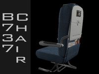 obj b737 chair