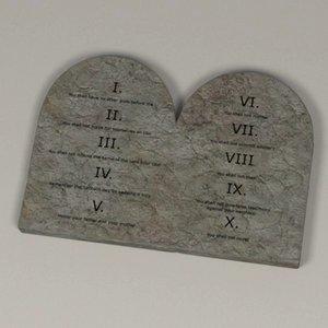 3d commandments