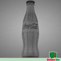 coca cola classic 3d model