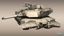 M1A1 Abrams Mine Plow 3D models