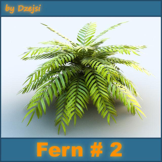 fern exterior 3d model