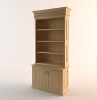 3ds wooden cupboard