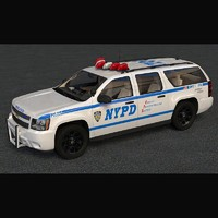 Chevrolet Suburban NYPD