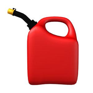 3d model gasoline