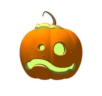 lightwave halloween pumpkin