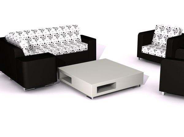 sofa 3ds free