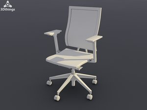 conference chair open mind obj