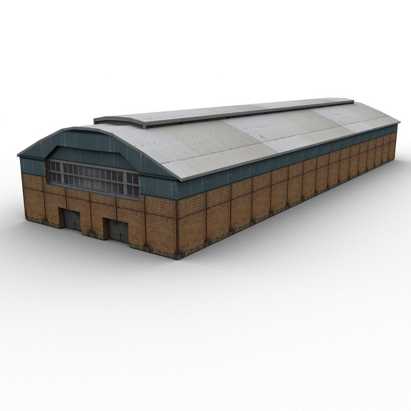 shed 3d 3ds
