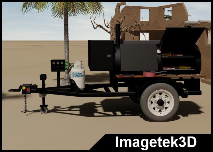 3ds max propane gas single axle