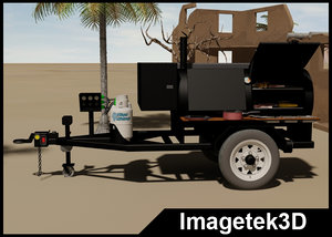 3ds max propane gas single axle