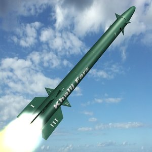 3d iranian khalij fars missile