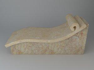 stone bench max