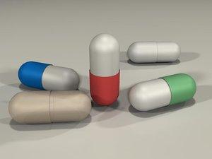 free obj model pill ill