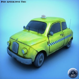 lwo post apocalyptic taxi