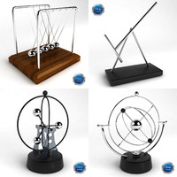 Kinetic Desk Sculpture Collection