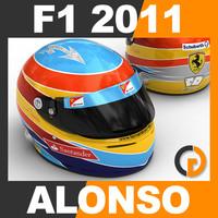 blender formula 1 2011 fernando