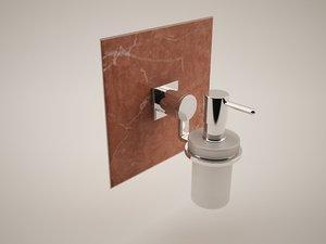 grohe allure 40363 soap dispenser max