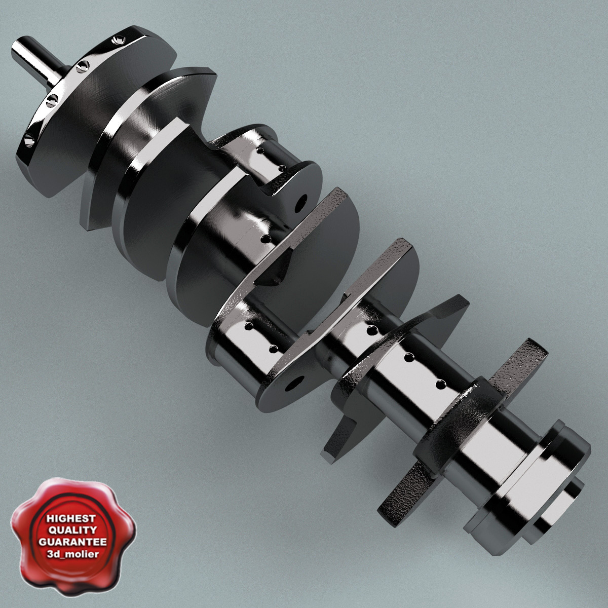 crankshaft v2 3ds