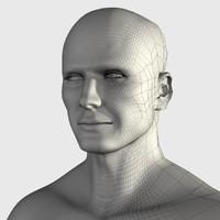 c4d human man
