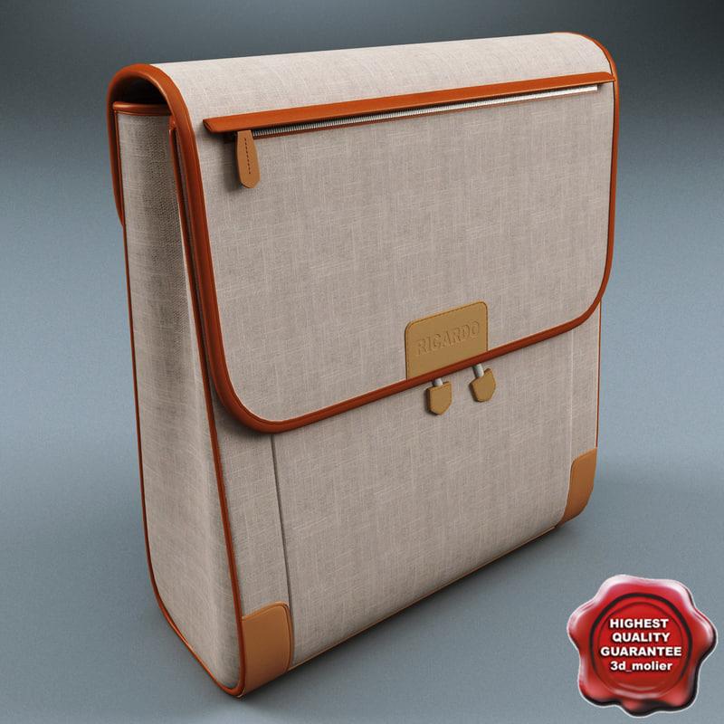 3d handbag v2 model