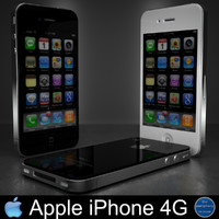 3d apple iphone 4g