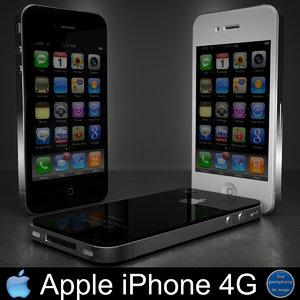 3d apple iphone 4g