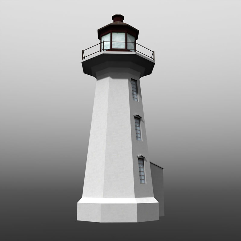 3ds max lighthouse beacon