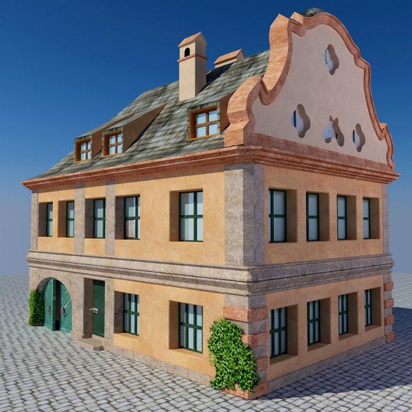 3d bayern house