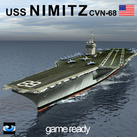 USS Nimitz Aircraft Carrier CVN68