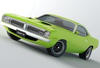 3ds plymouth barracuda 1970 hemi