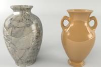 3d model vases
