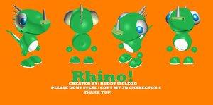 rhino animate 3d 3ds
