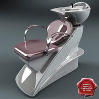 salon wash point v3 3d max