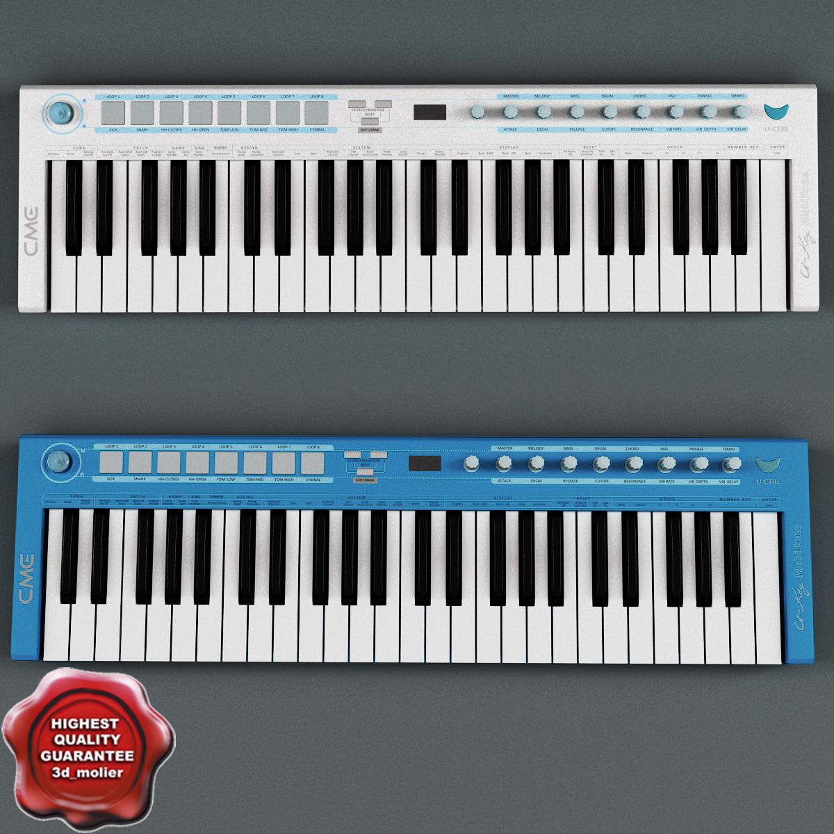 max usb midi keyboard u-key
