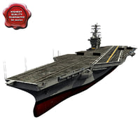 uss george washington cvn-73 3d max