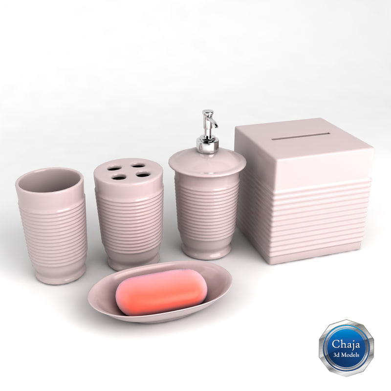 3d model bathroom accessories bath for 3d bathroom accessories