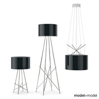 flos table lamps lights 3d max