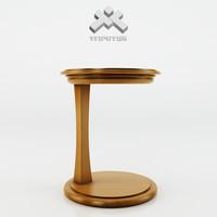 photorealistic table - gem 3d model